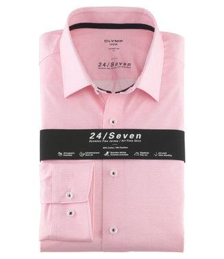 OLYMP OLYMP Modern Fit  Roze Jersey 1252.74.30