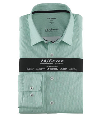 OLYMP OLYMP Modern Fit  Groen Jersey 1252.74.45
