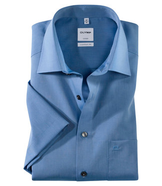 OLYMP OLYMP Comfort Fit Fit  Blauw K.Mouw 5131.12.15