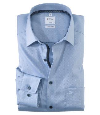 OLYMP OLYMP Comfort Fit Blauw  1062.74.11