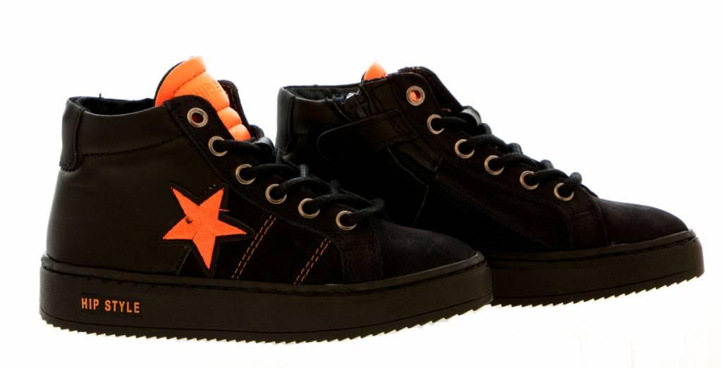 4378e8f2937 HIP hoge sneaker darkblue combi - Steenbergen Schoenen Rijssen