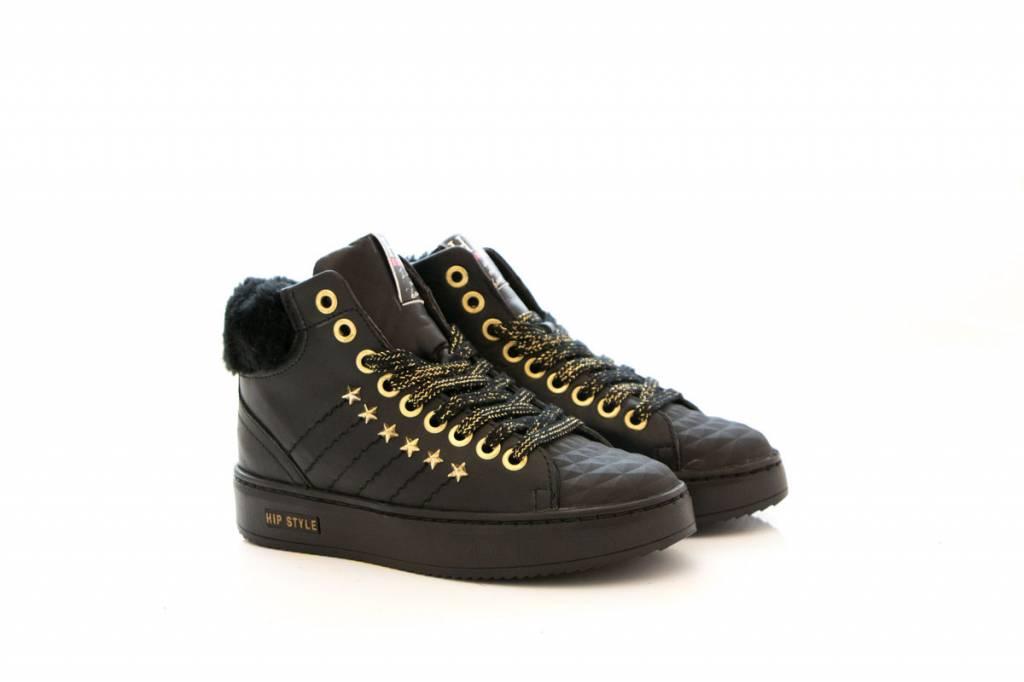 1a65a945f1f HIP hoge sneaker black combi - Steenbergen Schoenen Rijssen