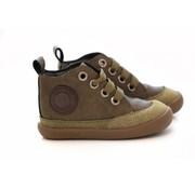 Shoesme Hoge Veter Babyflex Bruingroen