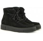 aQa Hoge Sneaker Nero Velour Sport