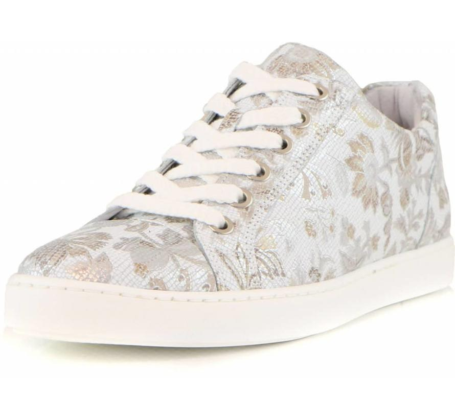 Sneaker Flower White Gold