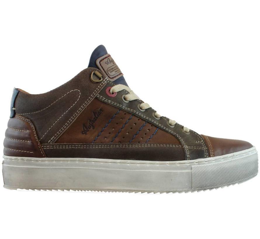 Sneakers Bruin Leer