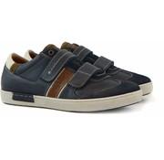 Australian Sneaker Klittenband Tan Blue