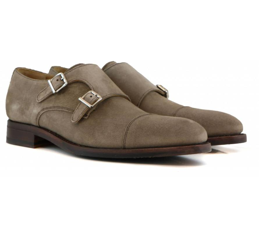 Gesp Taupe Suede
