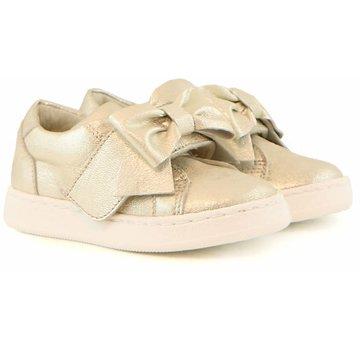 CLIC Sneaker Goud Klittenband