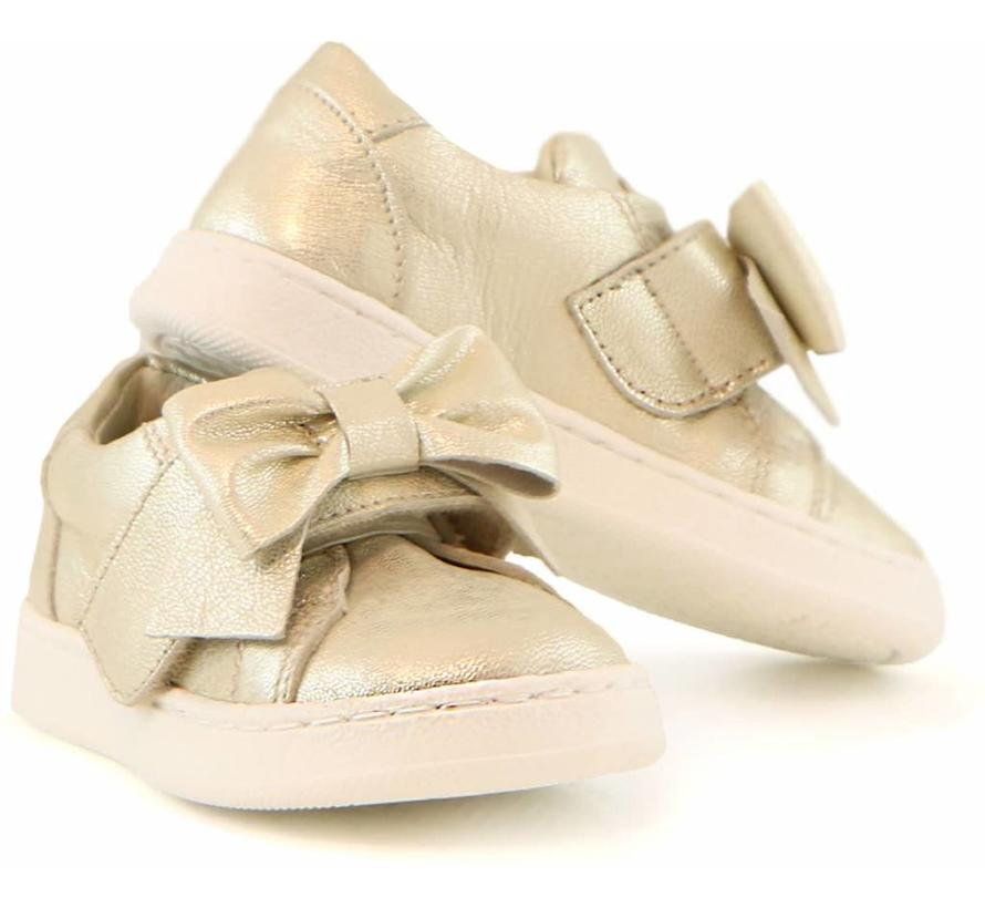 Sneaker Goud Klittenband