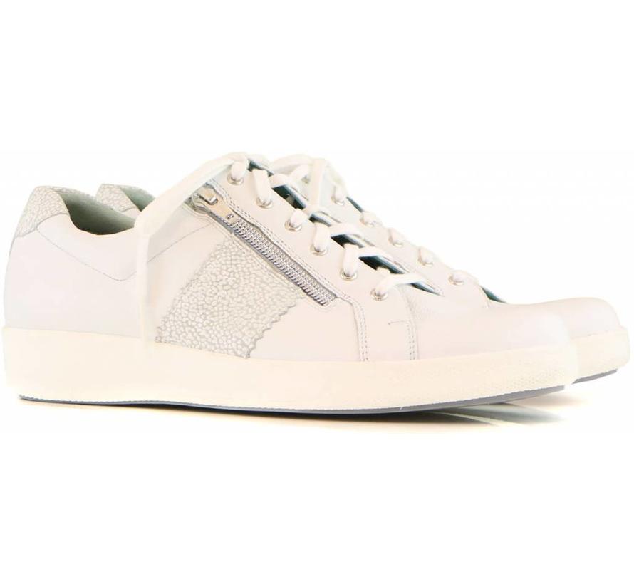 Sneaker Wit Kalf