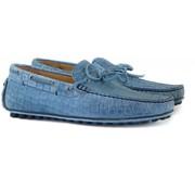 Greve Mocassin Jeans Coral Croco