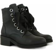 Nubikk Veterboot Black Leather