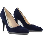 Peter Kaiser Pump Notte Suede Fumo Iron