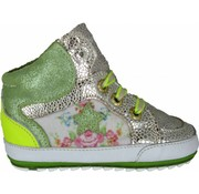 Shoesme Babyproof Veter Green Flowers