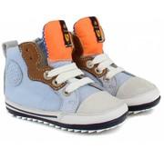Shoesme Hoge Veter Lichtblauw