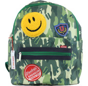 Shoesme Rugtas Camoflage Green Smiley