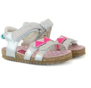 Shoesme Sandaal Pink Silver