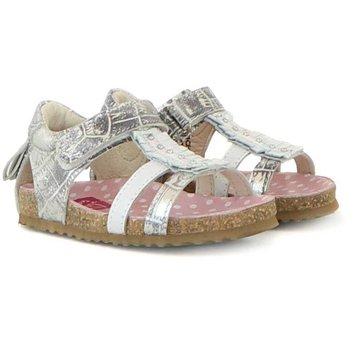 Shoesme Sandaal White Silver