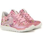 Shoesme Sneaker Roze Bloemen Run Flex
