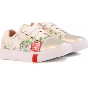 Shoesme Sneaker White Flower Star
