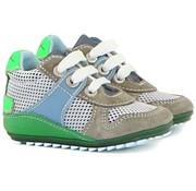 Shoesme Veter Grijs Wit Groen