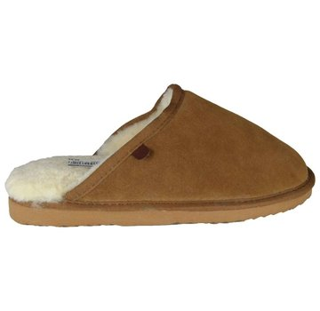 Warmbat Men Slipper Classic Suede Cognac