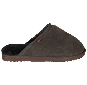 Warmbat Men Slipper Classic Suede Chocolate