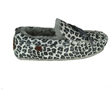 Warmbat Ladies Mocassin Print Grey
