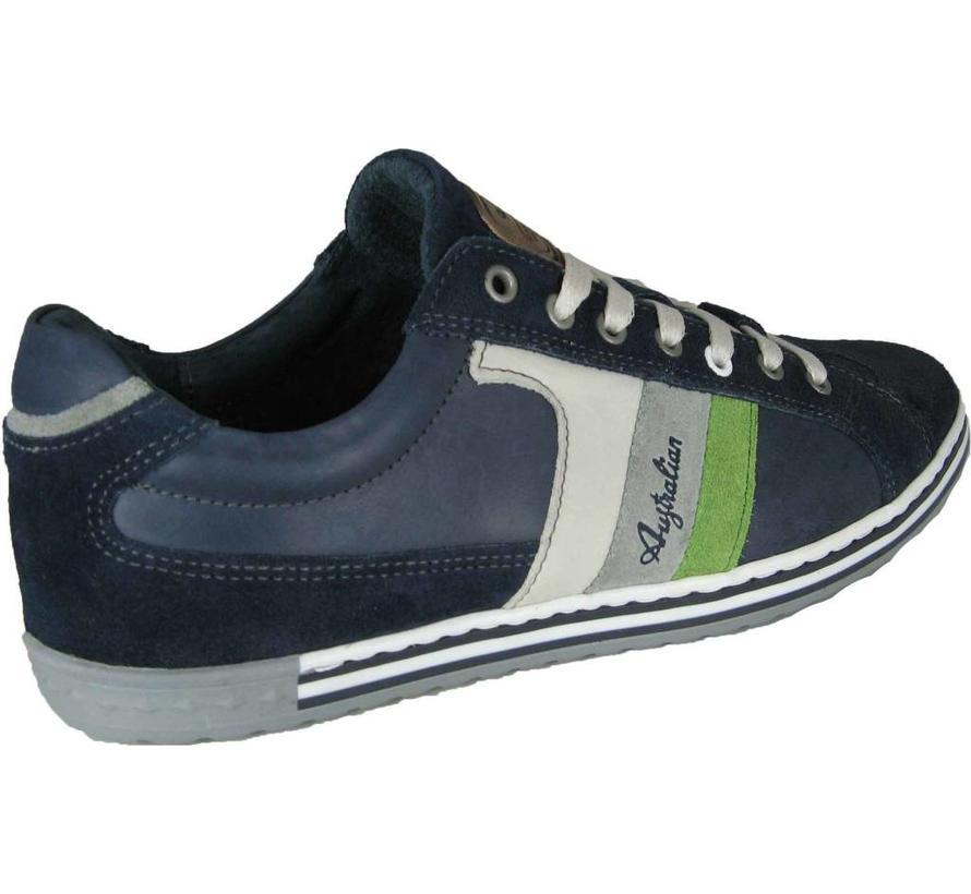 Sneaker Blue-White-Green