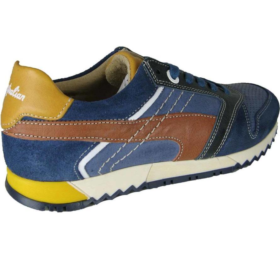 Runner Navy-Yellow