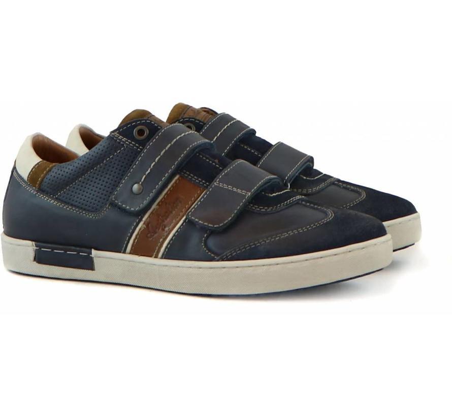 Sneaker Klittenband Blue Combi