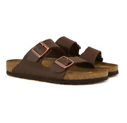 Birkenstock Slipper Arizona Dark Brown