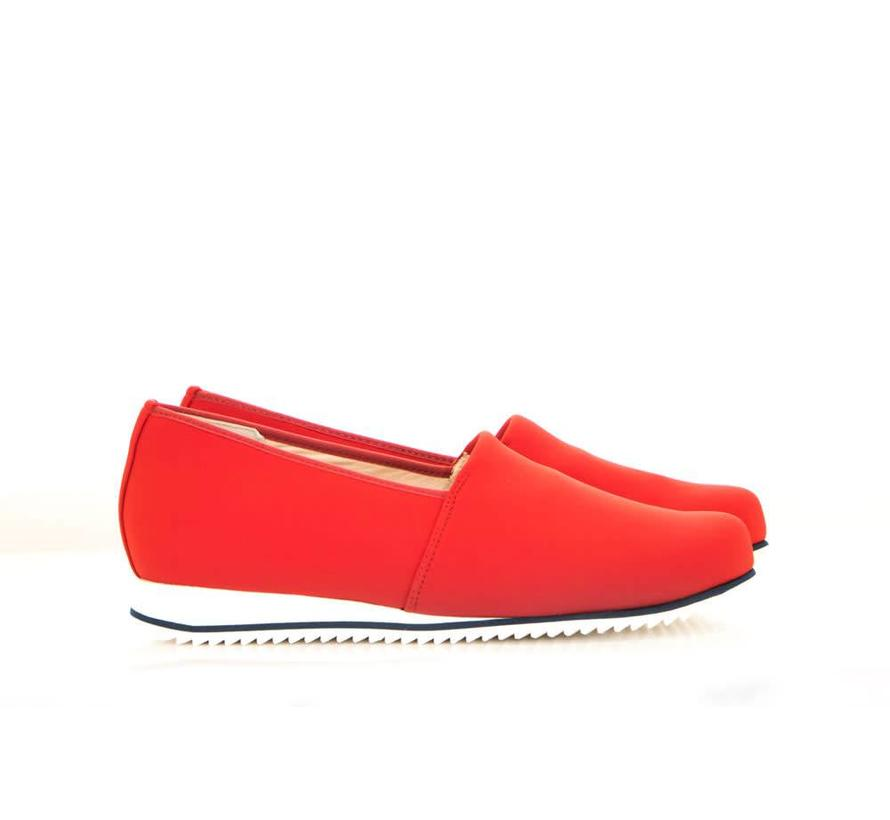 Loafer Stretch Rosso