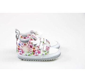Shoesme Babyproof Hoge  Veter Flowers