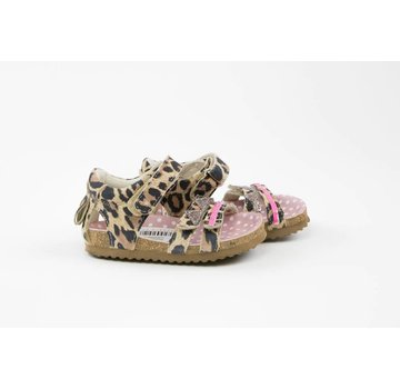 Shoesme Bio Sandaal Leopardo