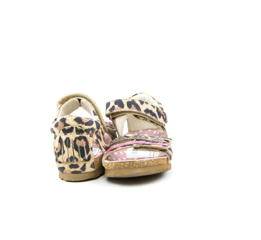 Bio Sandaal Leopardo