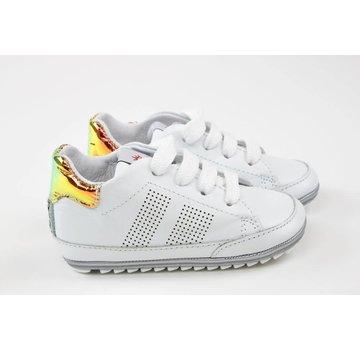 Shoesme Babyproof Veter Blanco Metallic