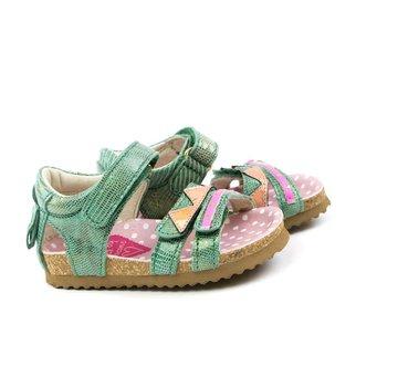 Shoesme Bio Sandaal Green Metallic