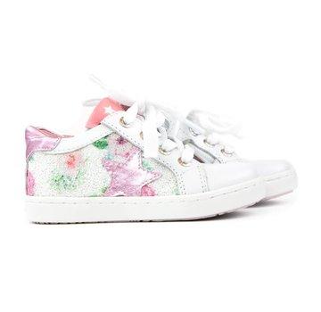 Shoesme Urban Sneaker Ster White Pink