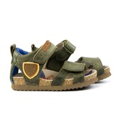 Shoesme Bio Sandaal Army Green