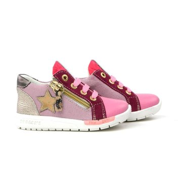 Shoesme Run Flex Sneaker Ster Pink