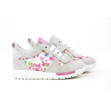 Shoesme Run Flex Sneaker Flowers Bianco Multi