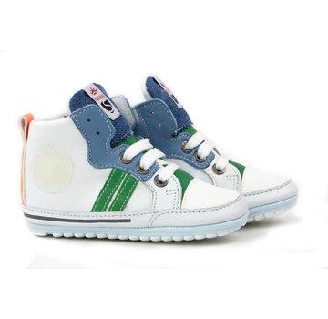 Shoesme Babyproof Hoge Veter Marino White