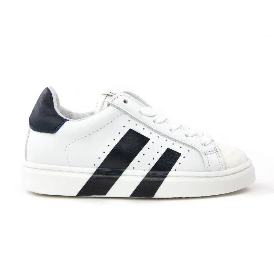 Sneaker White Darkblue
