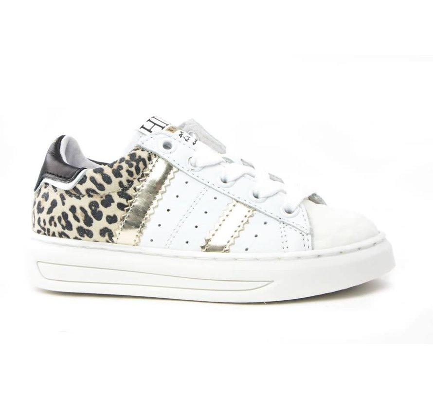 Sneaker White Platina Leopard