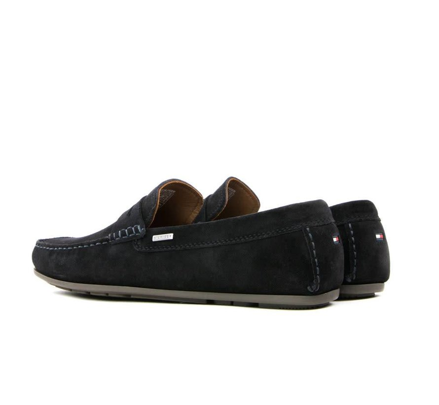 2e217e8d89f Tommy Hilfiger Penny Loafer Classic Suede Midnight - Steenbergen ...