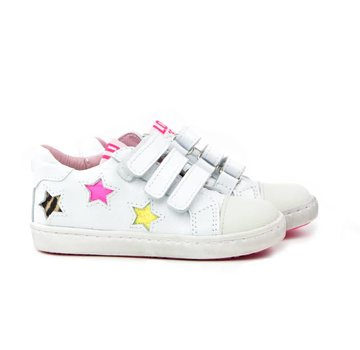 Shoesme Urban Sneaker Klittenband Sterren Bianco