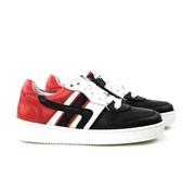 GIGA Sneaker Velvet White Red