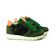 Shoesme Run Flex Sneaker Green Orange